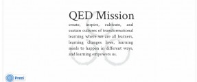 QED Theory of Change Prezi